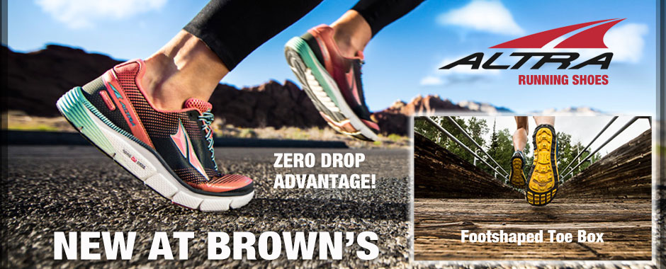 Altra Running Shoes at Brown's Shoe