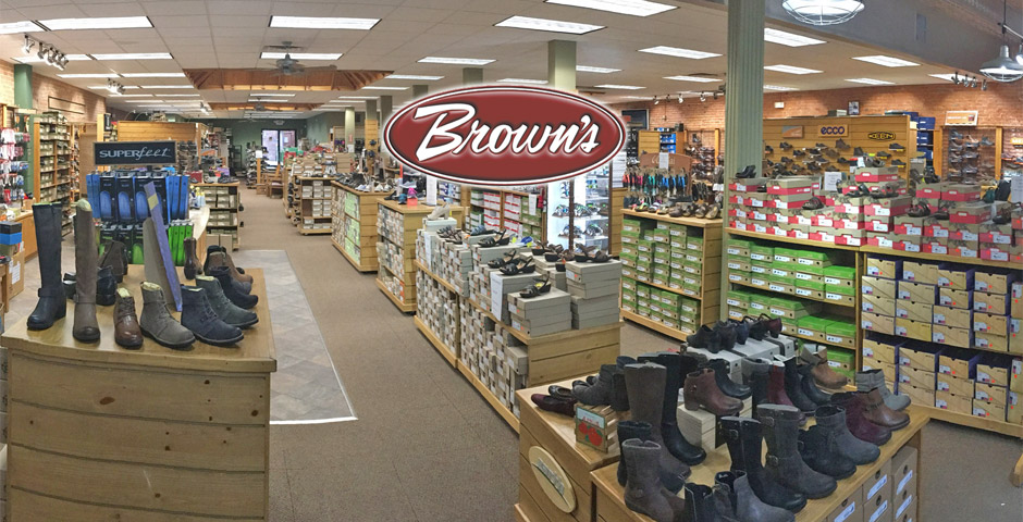 Brown's Fall Store Selection